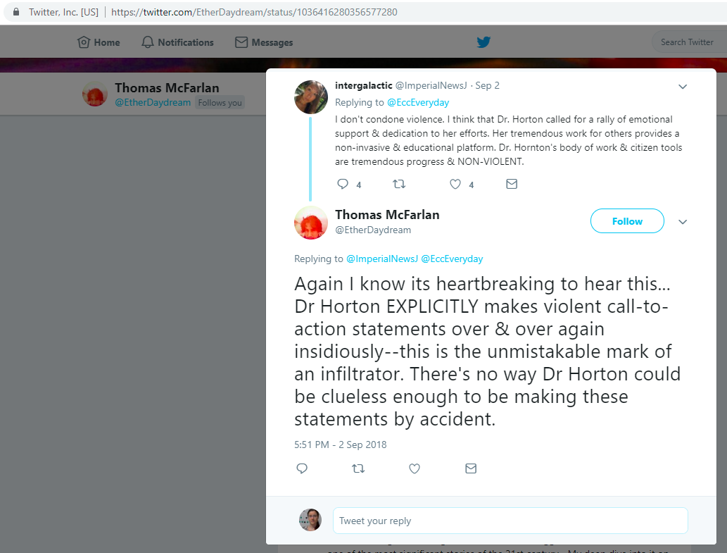 2018.09.02_Thomas.Mc.Farlane_Twitter.claims.infiltrator